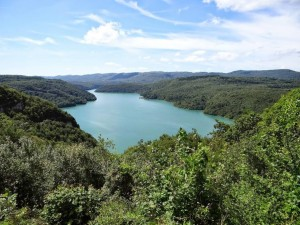 Lac de Vouglans 1/2 heure
