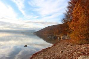 lac de Chalain en automne