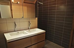 Salle de douche Chalain douche à l'italienne