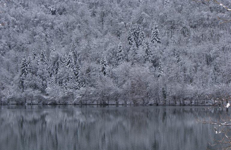 Lac du val hiver 3 minutes
