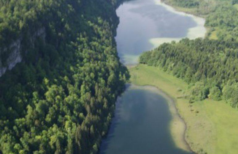 Les 4 lacs paysage