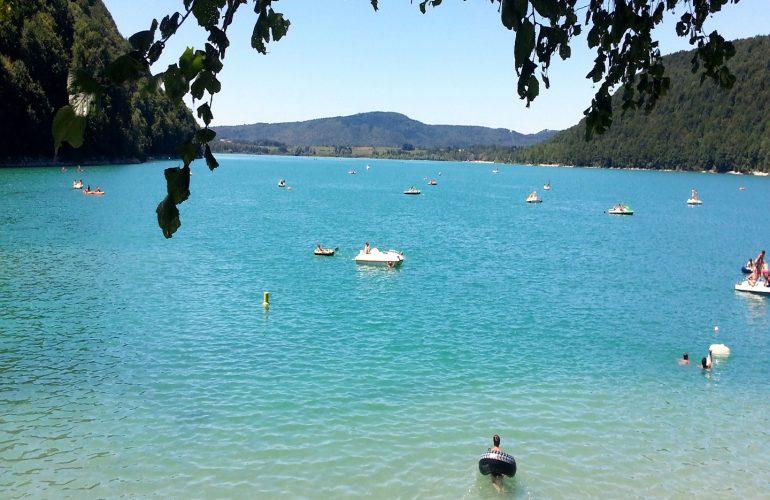 lac de chalain portrait